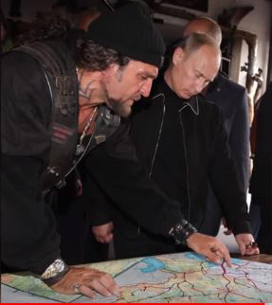 Aleksandar Zaldostanov i Vladimir Putin | Author: YouTube screenshot