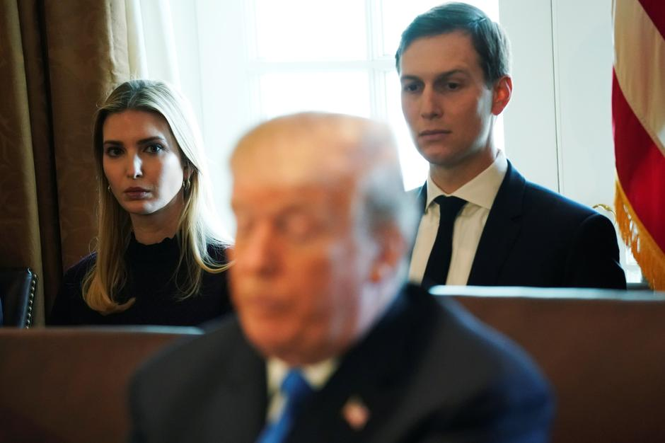 Ivanka, Donald Trump i Jared Kushner | Author: JONATHAN ERNST/REUTERS/PIXSELL