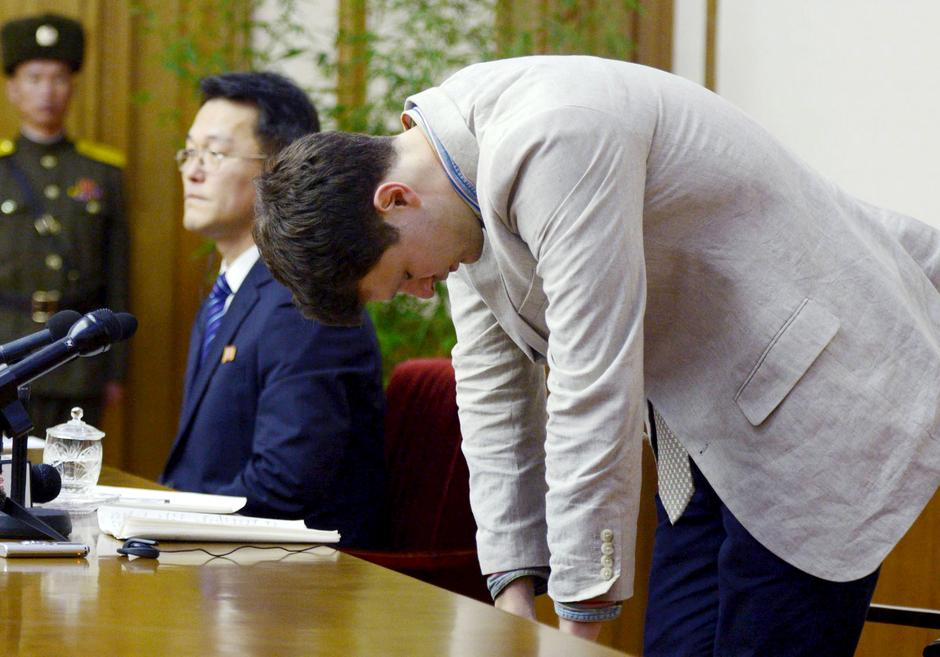 Otto Warmbier | Author: REUTERS