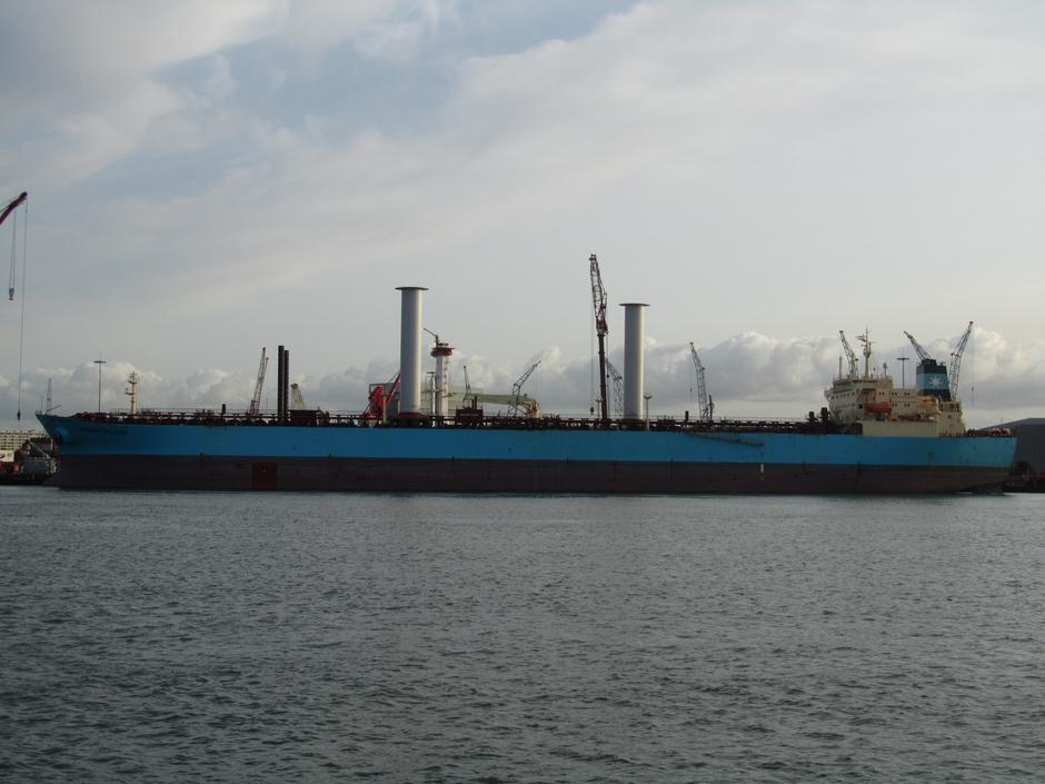 Tanker s jedrima Maersk Pelican | Author: Handout/REUTERS/PIXSELL