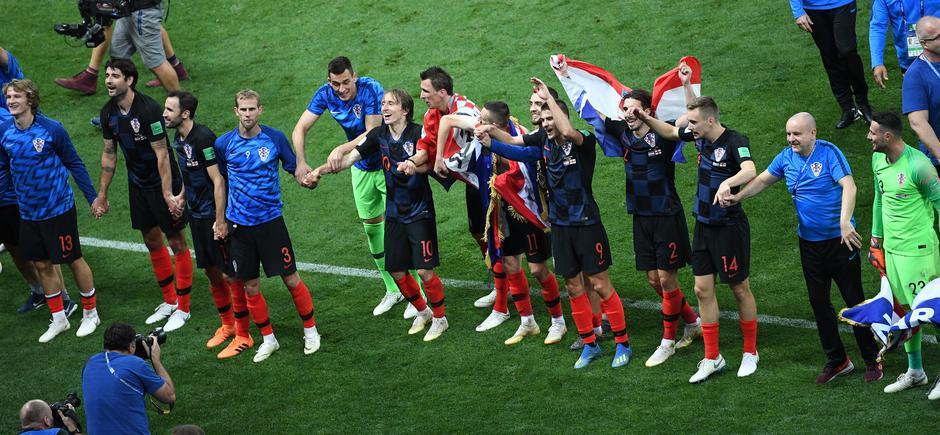 Hrvatska rezultatom 2:1 poslala Engleze kući, u finalu ih čeka Francuska   Author: DPA/PIXSELL