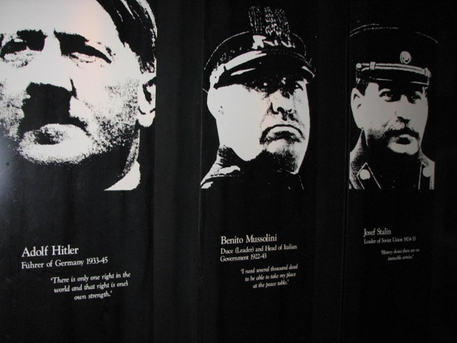 Hitler, Mussolini, Staljin | Author: Auckland City War Memorial Museum/ CC BY-ND 2.0