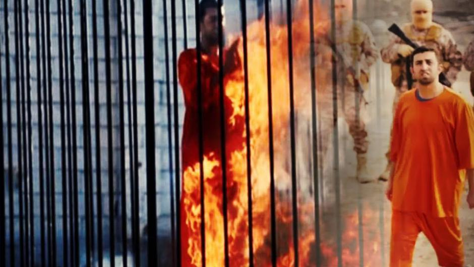 ISIL-ova egzekucija, Moaz al-Kasasbeh, 2015. | Author: YouTube