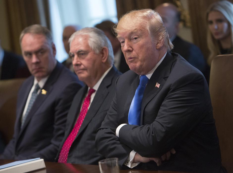 Donald Trump i Rex Tillerson | Author: Chris Kleponis/DPA/PIXSELL