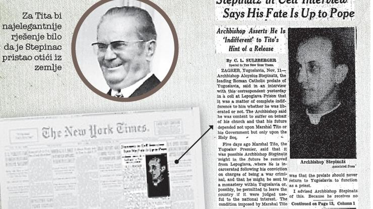 Intervju iz New York Timesa 1950. sa Stepincem
