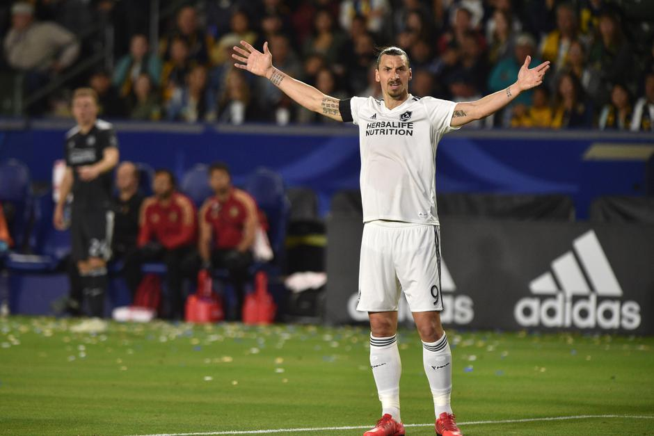Zlatan Ibrahimović za vrijeme utakmice Los Angeles Galaxy | Author: Lionel Hahn/Press Association/PIXSELL