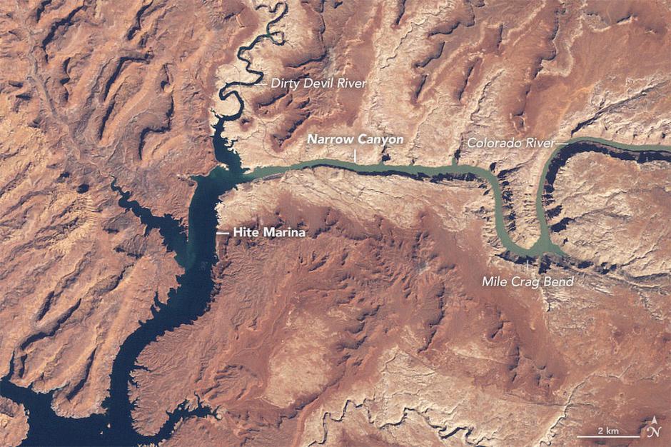 Rijeka Colorado | Author: NASA
