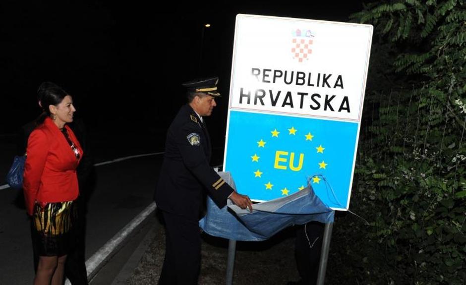 Proslava ulaska Hrvatske u EU | Author: Hrvoje Jelavic (PIXSELL)