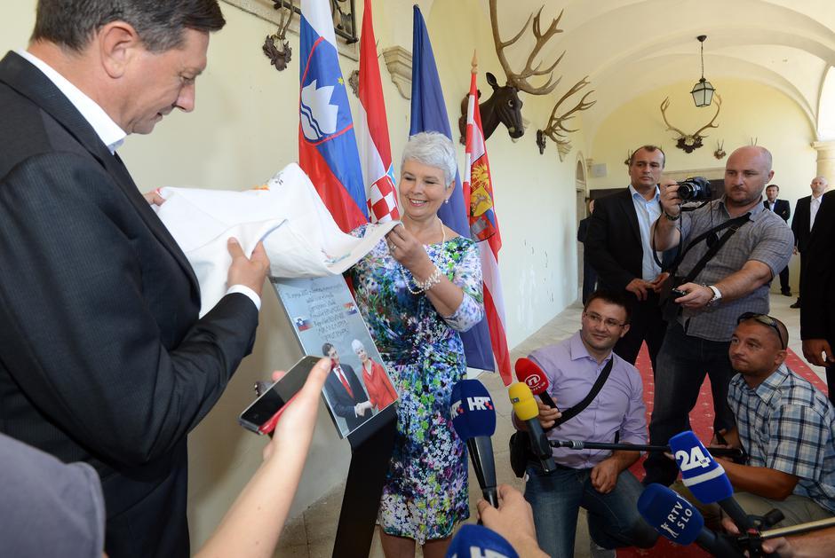 Jadranka Kosor i Borut Pahor | Author: Marko Jurinec/PIXSELL