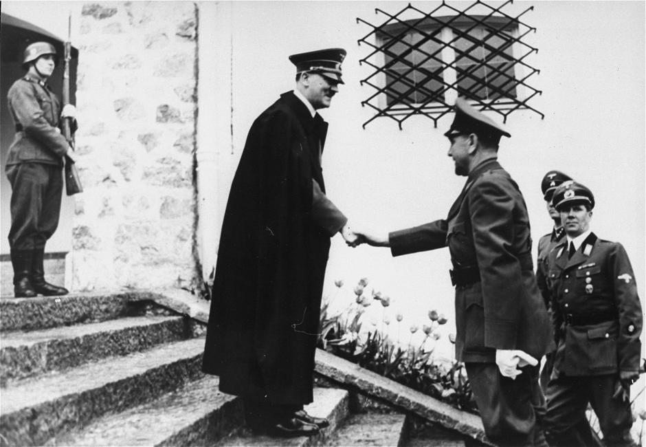 Adolf Hitler i Ante Pavelić | Author: United States Holocaust Memorial Museum
