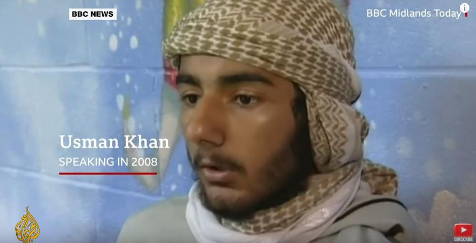 Usman Khan, terorist iz Londona 2019. | Author: YouTube screenshot
