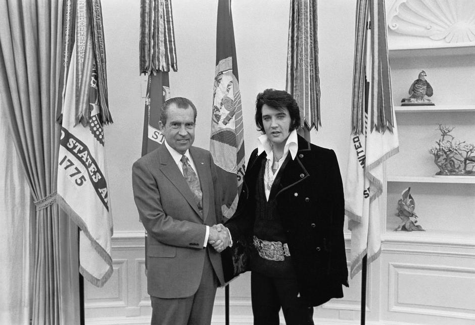 Elvis Presley i Richard Nixon | Author: White House Photographs