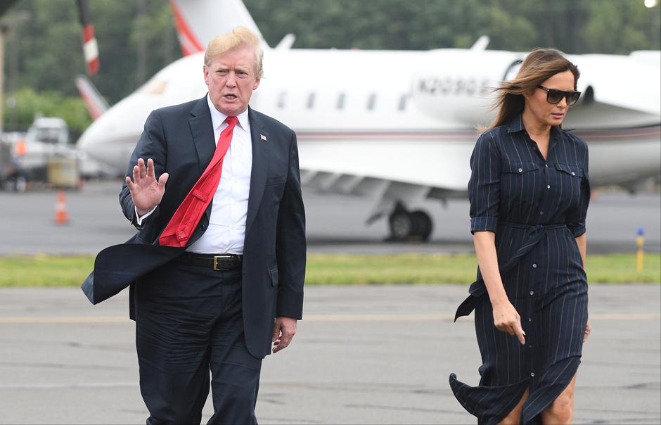 Donald i Melania Trump | Author: Reuters