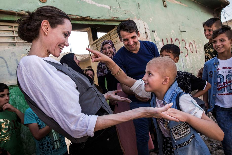 Angelina Jolie u Iraku | Author: Reuters