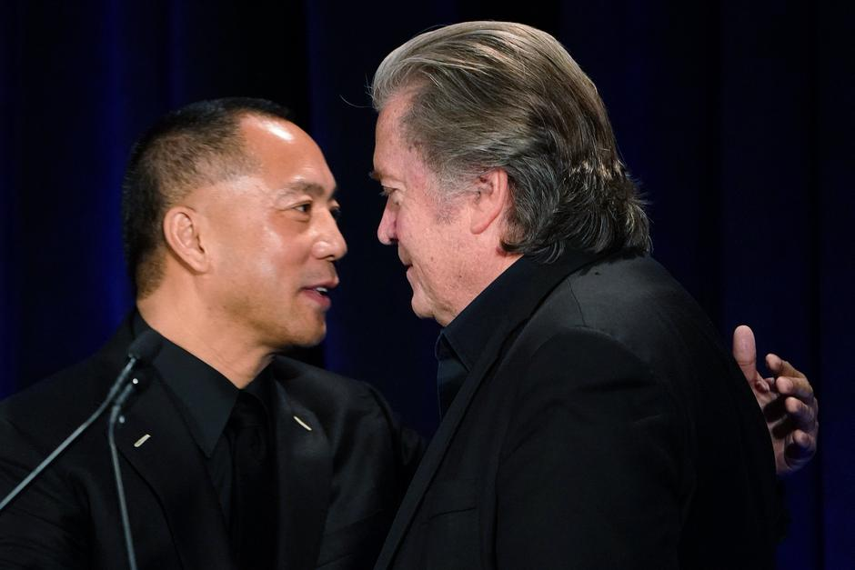Stephen Bannon i Guo Wengui | Author: CARLO ALLEGRI/REUTERS/PIXSELL