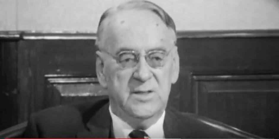 Carl Lutz u intervjuu neposredno prije smrti 1975. godine | Author: YouTube screenshot