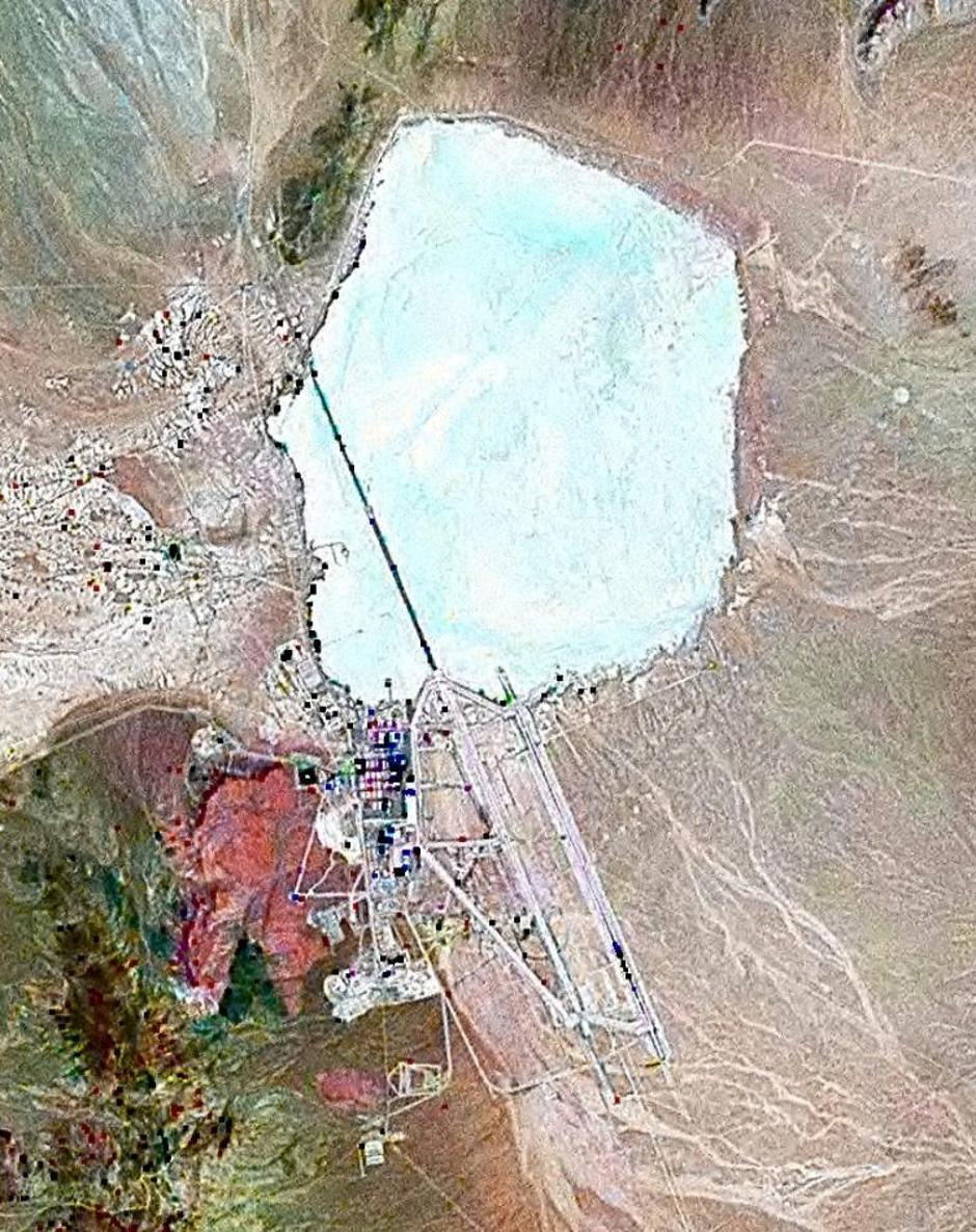 Area 51 | Author: Google Earth