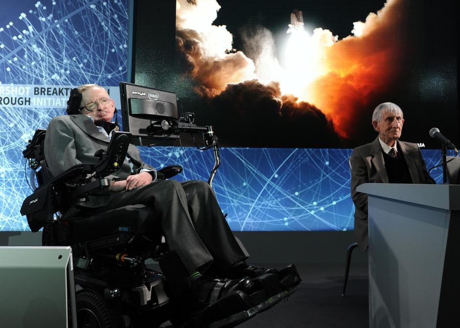 Stephen Hawking s Papom Franjom | Author: OSSERVATORE ROMANO/REUTERS/PIXSELL