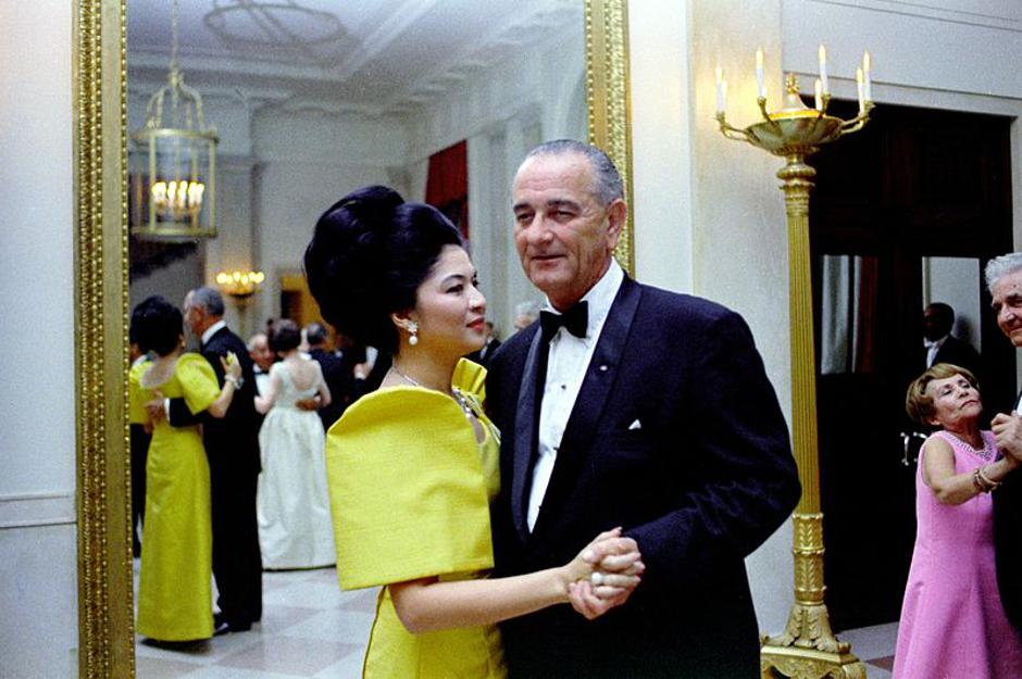 Imelda Marcos i američki predsjednik Lyndon Johnson | Author: Wikimedia Commons