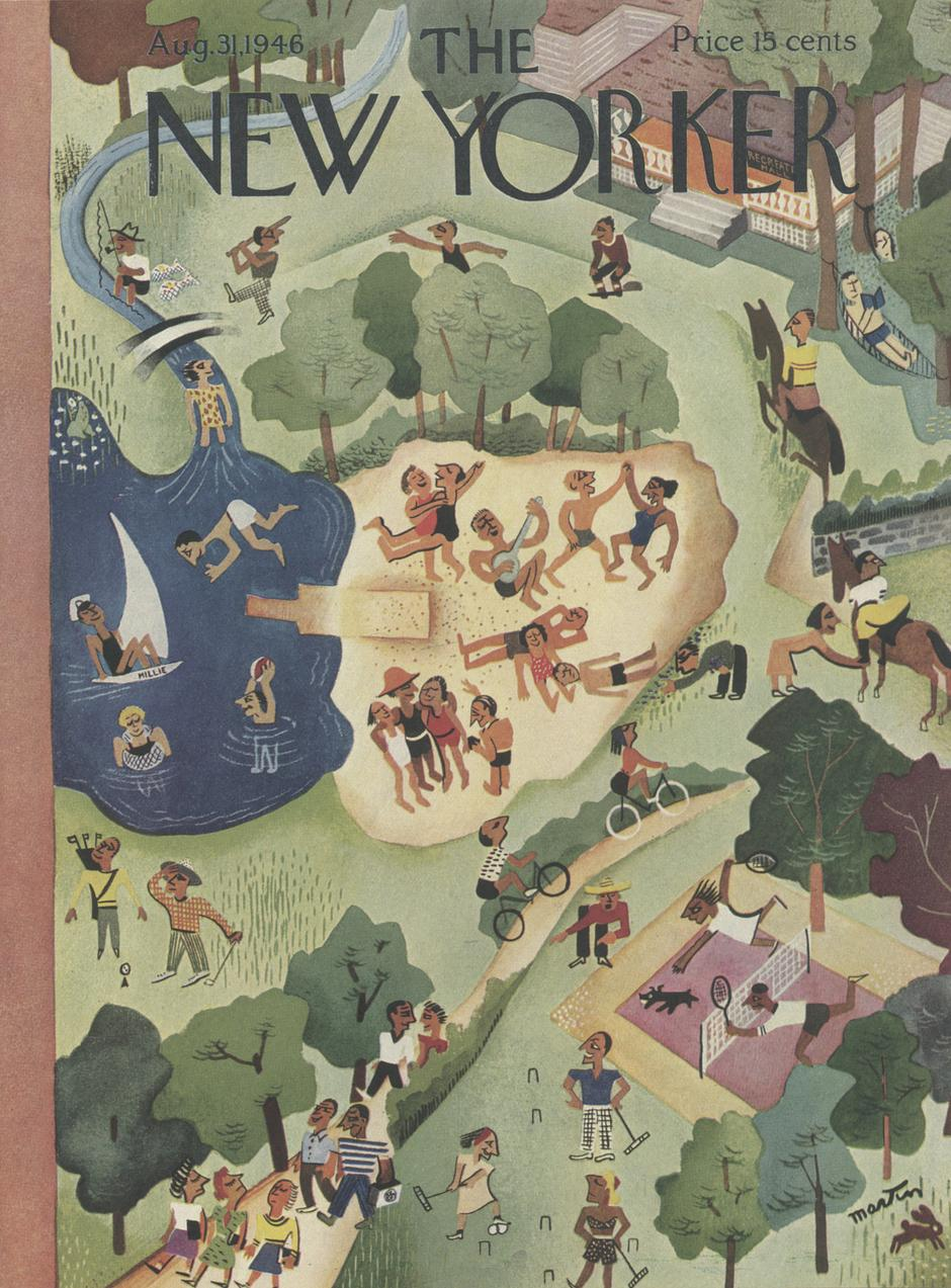 Naslovnica kolovoškog izdanja New Yorkera | Author: The New Yorker