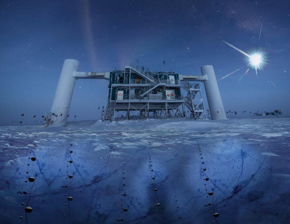 "Neutrini za kojima traga astronomski centar na Antarktici ""IceCube"" 