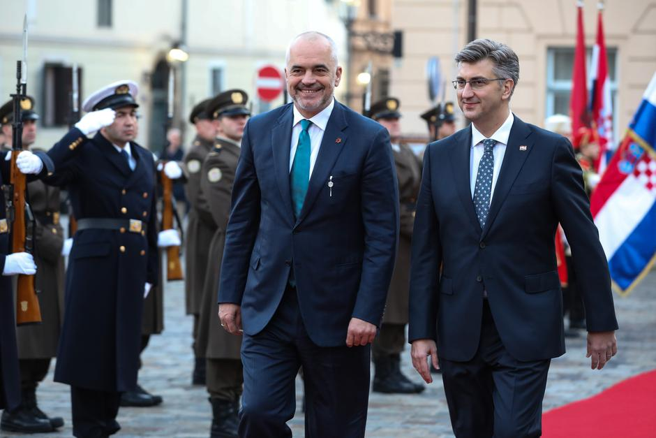Edi Rama | Author: Jurica Galoić/PIXSELL