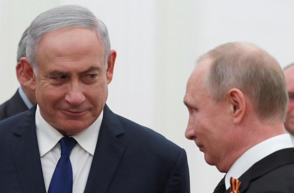 Benjamin Netanyahu, Vladimir Putin | Author: pool/REUTERS/PIXSELL