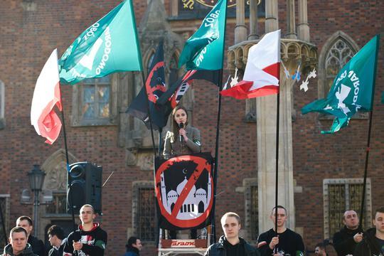 Desni nacionalisti u Wroclawu protestiraju protiv imigranata