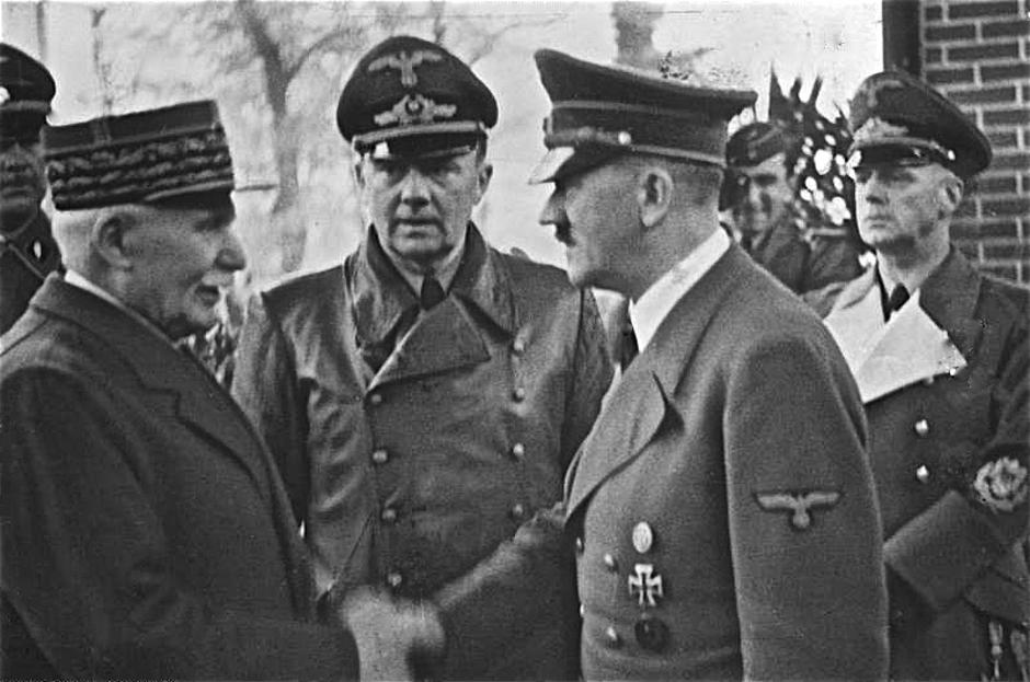 Francuski maršal Philippe Pétain i Hitler | Author: Wikipedia