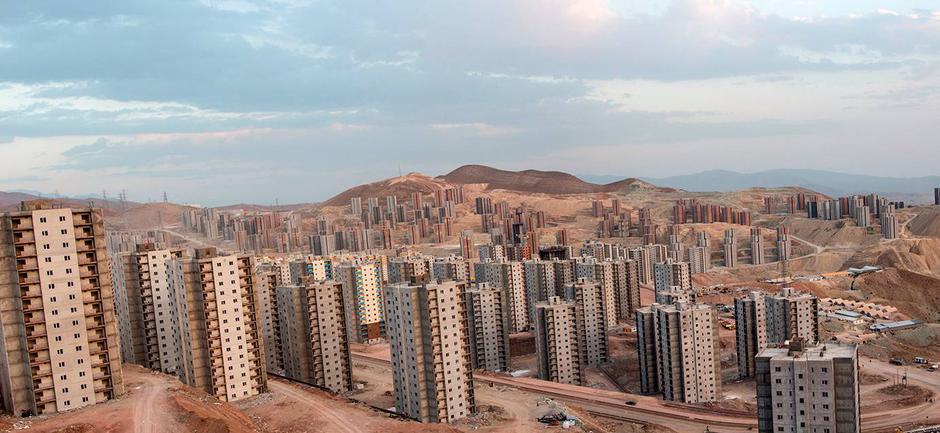 Grad Pardis u blizini Teherana u Iranu | Author: Kuzu Group