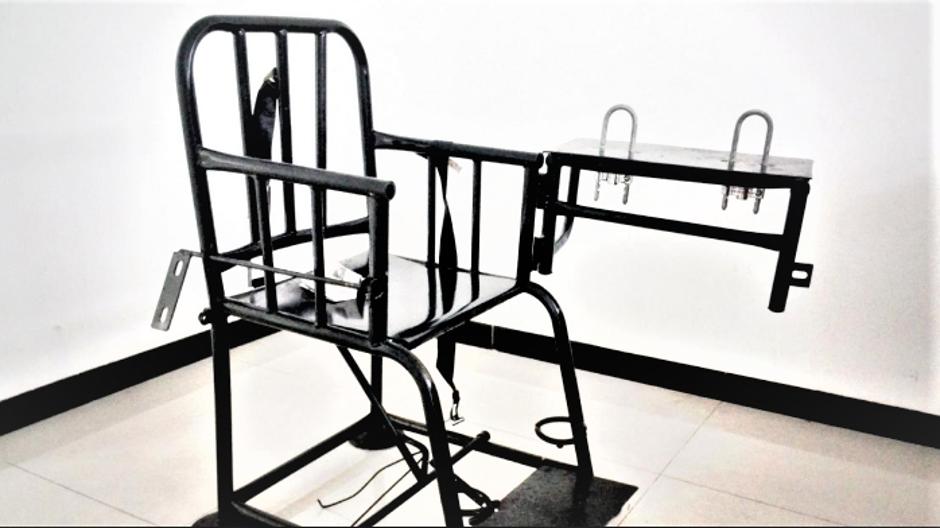 Sprava za mučenje - tigrov stolac   Author: express