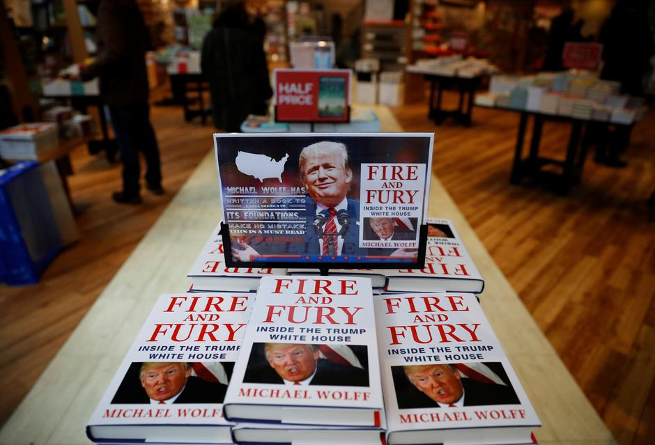 Fire And Fury | Author: REUTERS
