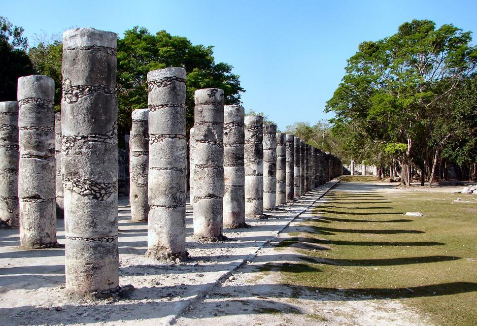 Arheološki ostaci nekad moćnog grada Chichen Itza | Author: Wikipedia
