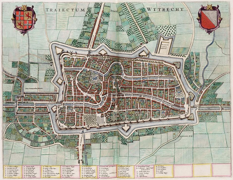 Utrecht koji je u 17. stoljeću poharala oluja | Author: Wikipedia Commons