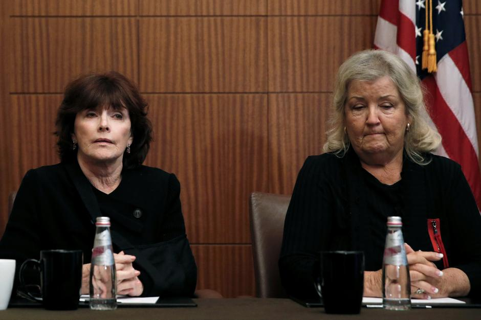 Juanita Broaddrick i Kathleen Willey na tiskovnoj konferenciji | Author: MIKE SEGAR/REUTERS/PIXSELL