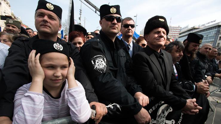Beograd: Predizborni skup Vojislava Šešelja, predsjedničkog kandidata SRS