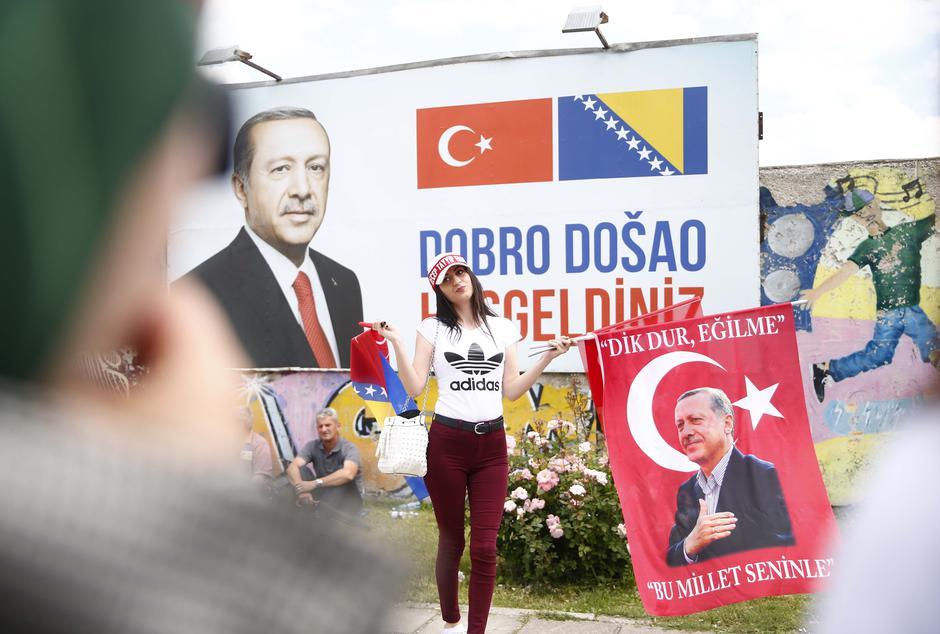 Erdoganove pristaše | Author: DADO RUVIC/REUTERS/PIXSELL