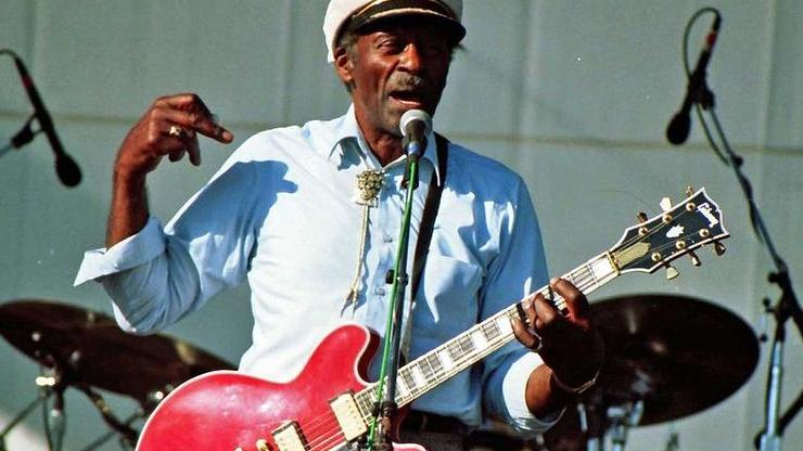 Legenda rocka Chuck Berry