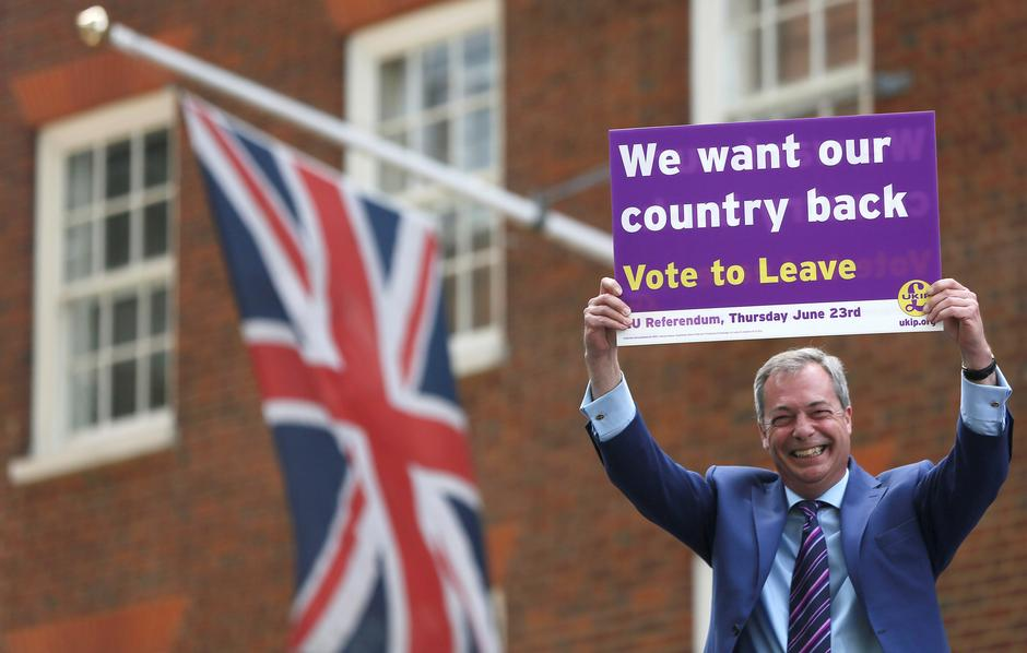 Nigel Farage, Brexit | Author: Reuters/Pixsell