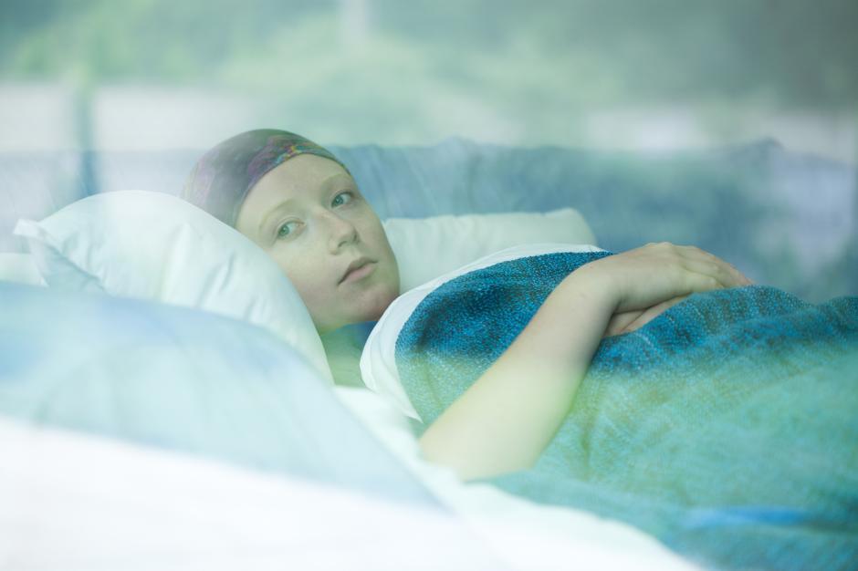 Žena s rakom nakon tretmana kemoterapije   Author: Thinkstock