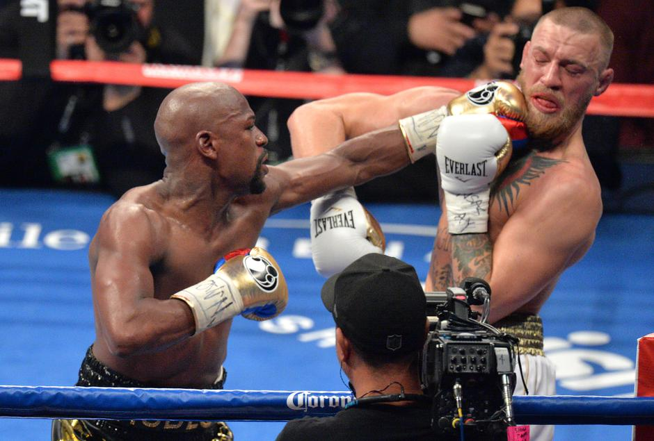 Borba Floyda Mayweathera i Conora McGregora | Author: PA Wire/Press Association/PIXSELL