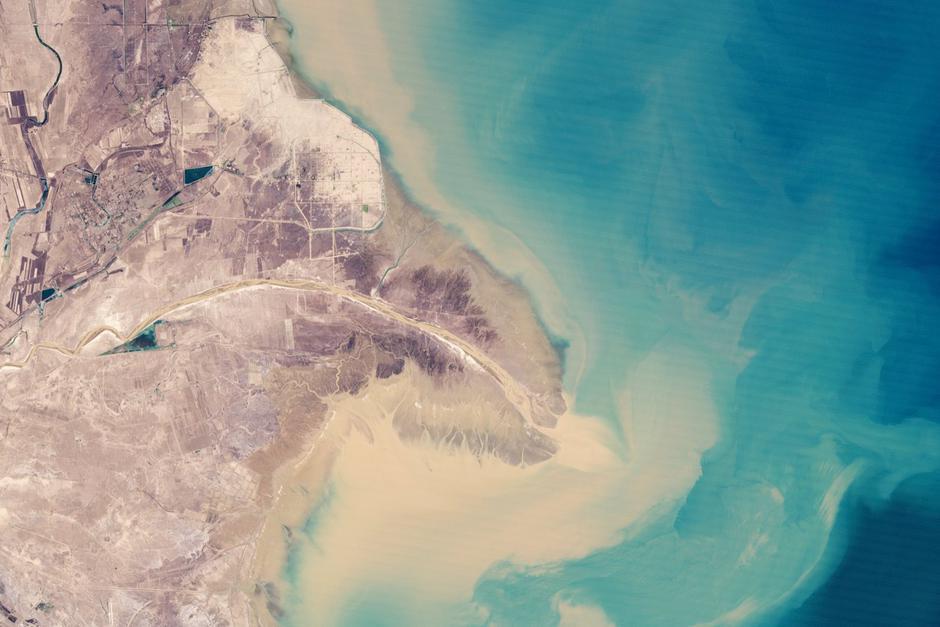 Žuta rijeka | Author: NASA