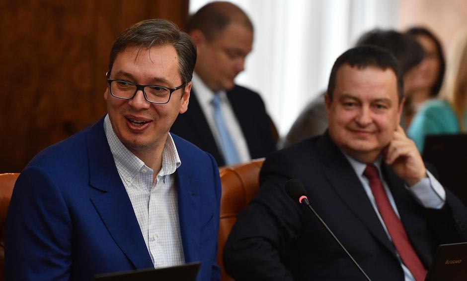 Aleksandar Vučić i Ivica Dačić | Author: Srdjan Ilic (PIXSELL)