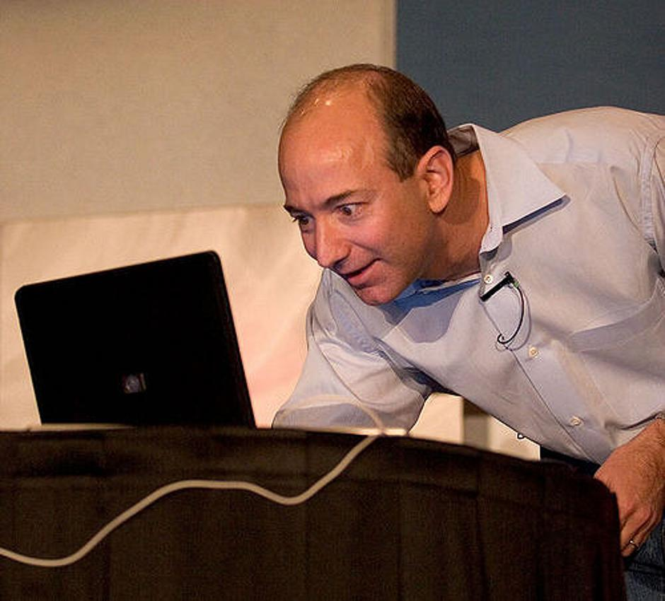 Jeff Bezos na predavanju | Author: Flickr