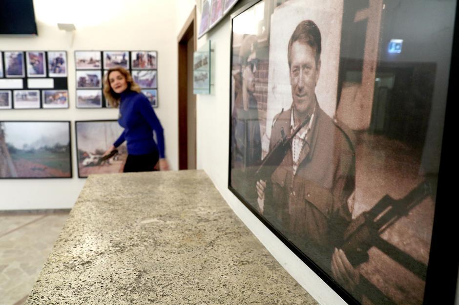 Izložba slika iz Vukovara u Saboru | Author: Patrik Macek/PIXSELL