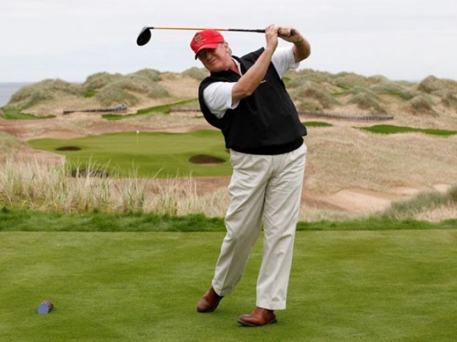Donald Trump igra golf | Author: Reuters