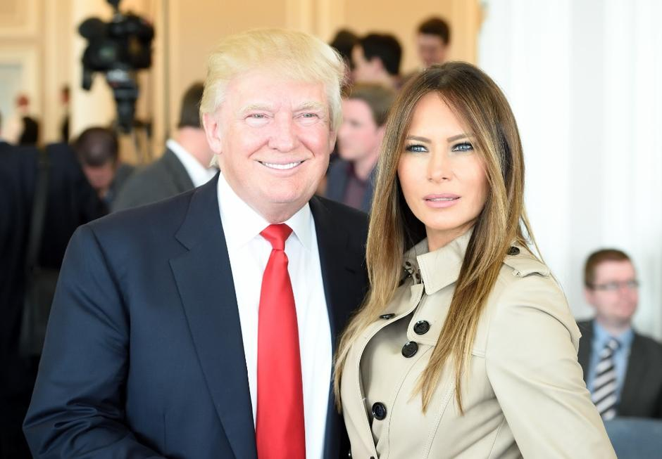 Donald i Melania Trump | Author: The Sun / News Syndication