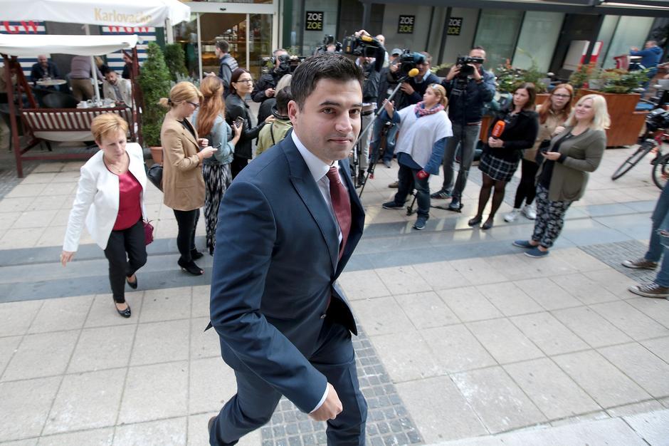 Kandidat za predsjednika SDP-a Davor Bernardić | Author: Patrik Macek (PIXSELL)