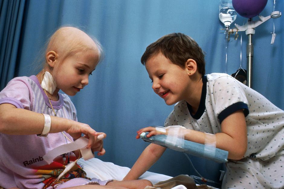 Djeca na kemoterapiji | Author: Bill Branson / public domain