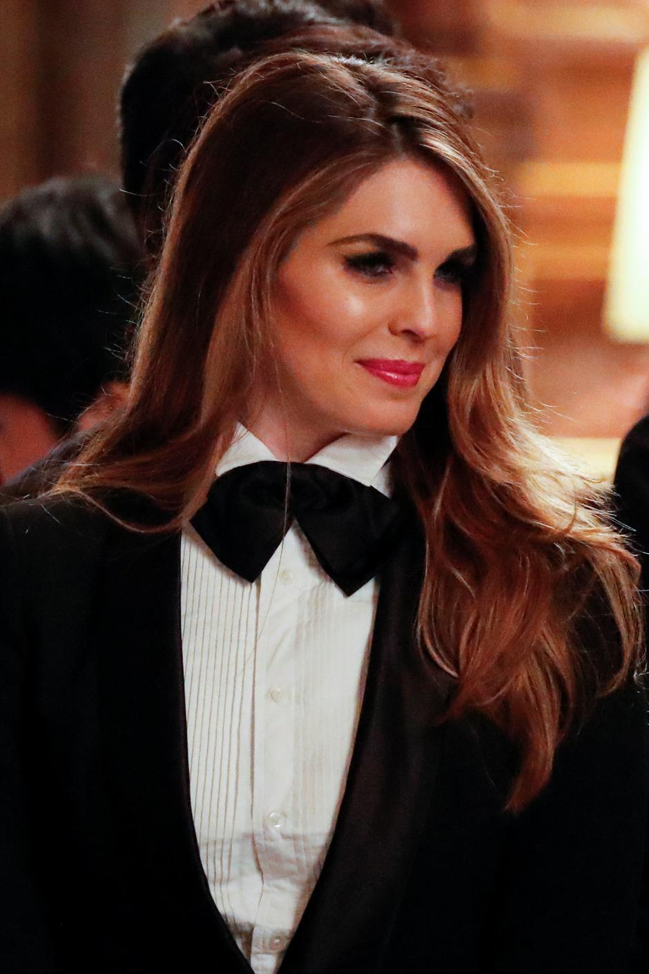 Hope Hicks | Author: REUTERS